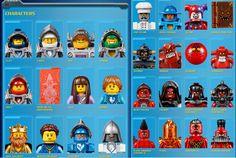 LEGO Nexo Knights Characters