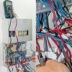 test the wires of the electrical board - Miriam Homepages Electrical Wiring, Diy And Crafts, Projects To Try, Boards, How To Plan, Survival, Electronics, Gas Monkey, Engineering Technology