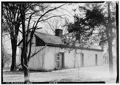 Slave quarters at The Grange: Bourbon County, Kentucky