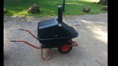 Wheelbarrow grill