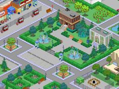 Springfield Simpsons, Springfield Tapped Out, The Simpsons Game, Clash Of Clans, Movies Showing, Projects To Try, Instagram, Layout, Games