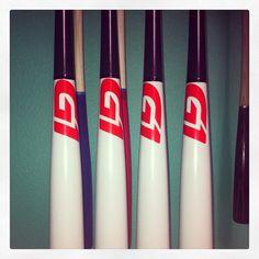 bff77b7cb5f Beautiful Whitewash black with red label. Come build your own Custom Wood  Bat  . Custom Wood BatsBaseball ...