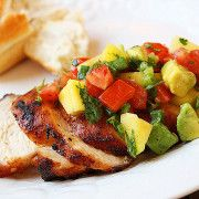 The Comfort of Cooking » Spiced Chicken with Tropical Salsa