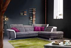 INVICTUS - Invictus est un salon d'angle moderne qui nous fait aspirer à être à la maison   Meubles Nikelly