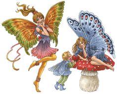 Elfje7 Fairies Francien van Westering