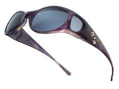 Aurora Purple Haze with Crystals from Swarovski® (Polarvue® Gray)
