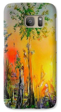 Forest Of Souls Galaxy Case Printed with Fine Art spray painting image Forest Of Souls by Nandor Molnar (When you visit the Shop, change the orientation, background color and image size as you wish) Spray Painting, Iphone Phone Cases, Galaxy S7, Colorful Backgrounds, Oriental, Change, Fine Art, Printed, S4 Case