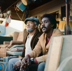 Red Foxx and Demond Wilson (Sanford and Son)