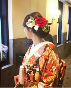和装前撮り準備②|Allie's Wedding Diary~2017.5 Yokohama~