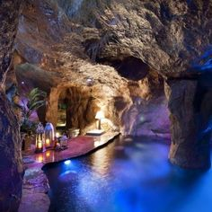 cave pool, yes man! Batman style ;0)