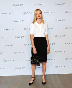 Kate Bosworth attends House of Gant Presentation Spring 2016 New York Fashion Week on September 10 2015 in New York City