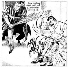 wwii,worldwarii-A comic by Leslie Gilbert Illingworth, that appeared in the Daily Mail on February 10 showing Josef Stalin giving Adolf Hitler a History Cartoon, Ww2 History, History Memes, Caricature, Battle Of Stalingrad, Ww2 Posters, Propaganda Art, Crime, Political Cartoons