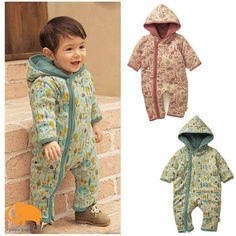 Free shipping+retail,Baby autumn winter hooded romper,little tree long sleeve zipper bodysuit/jumpsuits,2 colors,infant garment on AliExpress.com. $20.48