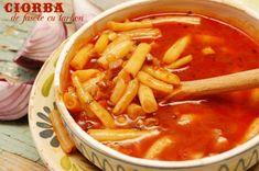 Ciorba de fasole cu tarhon Junk Food, Thai Red Curry, Supe, Toast, Cooking, Ethnic Recipes, Green, Baking Center, Koken
