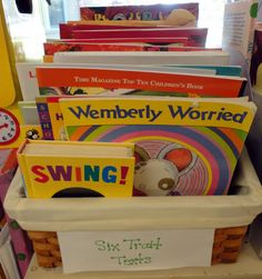 My personalcollection of Six Trait Texts! I use this collection to teach the different traits to my students. I really enjoy using the Six ...
