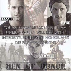 KC Lynn. Men Of Honour Series