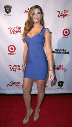 Katherine Webb photos of Club SI Swimsuit event at 1 OAK nightclub in Las Vegas