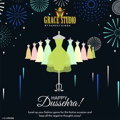 Grace Studio wishes everyone a very fashionable and fascinating Dussehra.   #dussehra #dussehra2018 #fashion #festivefashion