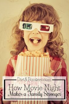 Family movie night is the best night of the week, and here's why! Parenting tips Family Time