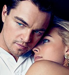 Leonardo DiCaprio and Margot Robbie for Interview Magazine Russia, March 2014