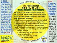 """GOTA CATÓLICA: 1er  Mandamiento de la ley de Dios """"AMAR A DIOS SO..."""