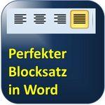Ein geheimer Trick bringt Ihnen den perfekten Blocksatz in Word