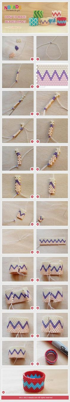 How to Make Beaded Rings – Nbeads