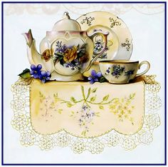 Great pic for my tea shoppe...Sandy Lynam Clough
