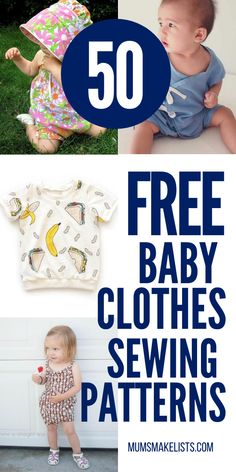 Sewing Baby Clothes, Baby Clothes Patterns, Baby Sewing, Free Sewing, Toddler Sewing Patterns, Pdf Patterns, Baby Patterns, Baby Romper Pattern Free, Homemade Baby Clothes