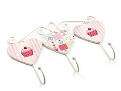 Cupcake Towel Hooks from Mr Price Home,