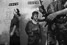 Chechen rebel during Chechnya's first war with Russia. 1995