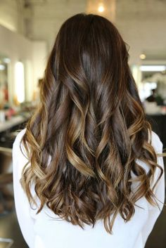 Love the Curls. (Subtle Ombre)
