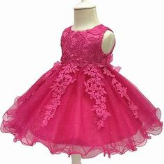 Dress up your child and let them walk with confidence with this very charming dress made with the finest materials Sizes: Lace Party Dresses, Girls Party Dress, Birthday Dresses, Flower Dresses, Pretty Dresses, Lace Dress, Girls Dresses, Birthday Tutu, Baby Dresses