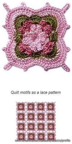 """This motif is totally """"off the wall"""" GORGEOUS! Looks so Victorian! Diagram to follow. ¯_(ツ)_/¯"""