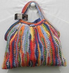 Françoise's crochet bags--inspiration Crochet Diy, Crochet Tote, Crochet Handbags, Crochet Purses, Learn To Crochet, Crochet Crafts, Crochet Stitches, Crochet Projects, Crochet Patterns