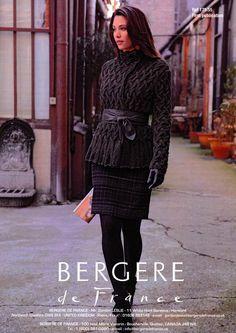 Jacket in Bergere de France Magic+ (175.55) | Bergere de France Knitting Patterns | Knitting Patterns | Deramores