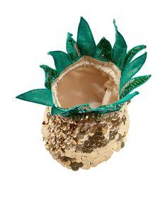 Embellished Pineapple Across Body Bag