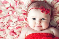 Baby headband, Red Sparkle Sequin Bow Skinny Elastic Headband photography prop Patriotic Holiday Christmas Valentines day on Etsy, $5.95