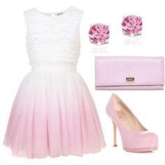 """Barbie Pink"" by tarynbunka on Polyvore"