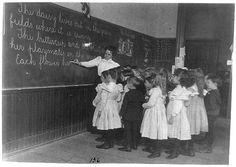 In the classroom, Washington D.C., 1899