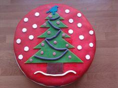 Kerst taart.