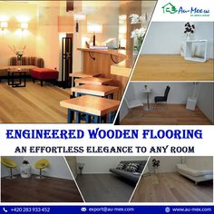 by Au-mex offers season wood flooring that allows you to add playfulness into your living space Seasoned Wood, Wood Flooring, Entryway Tables, Living Spaces, Engineering, Seasons, Room, Furniture, Home Decor