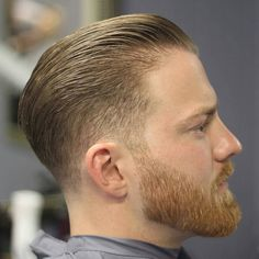 Mens Hairstyles With Beard, Cool Mens Haircuts, Cool Hairstyles For Men, Trendy Haircuts, Best Short Haircuts, Girl Haircuts, Popular Haircuts, Hair And Beard Styles, Hairstyles Haircuts
