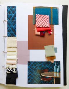 Kerasia Chloridou - Infusion Fabric board