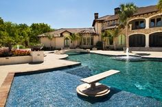 Mediterranean Pool - Mediterranean - Pool - dallas - by Pool Environments, Inc.