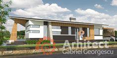 Casa parter 27   Proiecte de case personalizate   Arhitect Gabriel Georgescu & Echipa