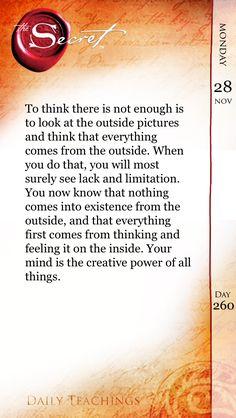 The Secret Quotes The Secretquotes  Pinterest  Affirmation Positivity And .