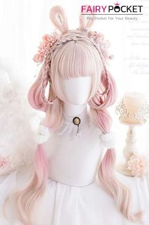 Cosplay Hair, Lolita Cosplay, Cosplay Outfits, Cosplay Wigs, Kawaii Hairstyles, Pretty Hairstyles, Wig Hairstyles, Anime Wigs, Anime Hair