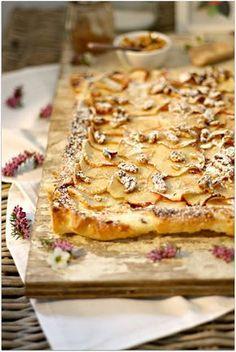 Apfeltarte mit Ricotta & Walnüssen - Der Kuchen-Quickie von bake a wish
