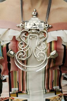 Mary Katrantzou SS 11 accessories